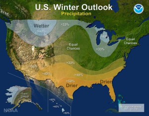 Cover photo for NOAA Winter Outlook