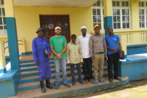 Extension agents in Guinea