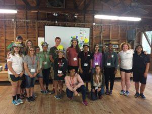 Teens in Leadership Training (TiLT) 4-H youth volunteers
