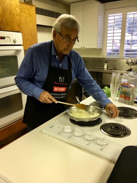 Extension Master Food Volunteer Cooking
