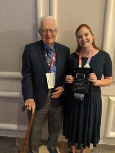 Cover photo for Recognizing an Emerging Leader in the Tourism Industry: NCSU Student Hailey Post Awarded the John and Joan Markham Marketing Award