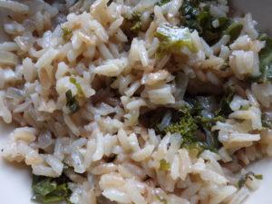 kale-pilaf