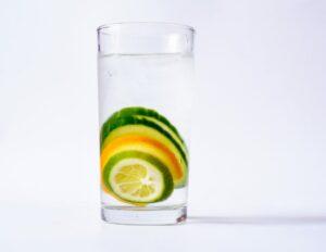 cucumber citrus infused water