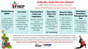 Adult EFNEP Individualized Series Outline